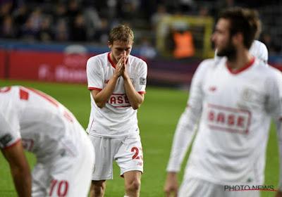 Le Standard ne pourra pas compter sur l'un de ses joueurs face à Bruges