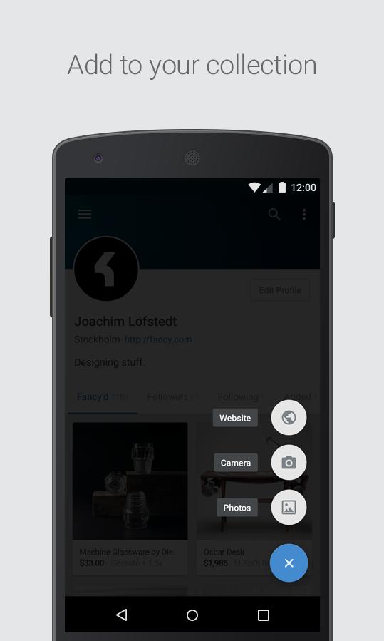 Fancy - screenshot