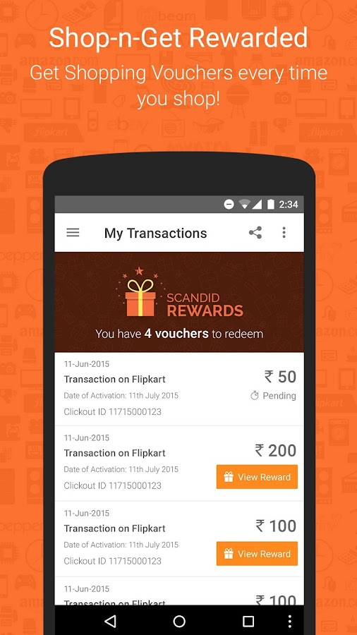 Deals, Coupons, Compare Price & Cash Back app- screenshot