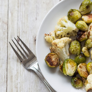 Roasted Cauliflower and Brussels Sprouts Recipe