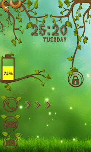 Forest Go Locker Theme screenshot 3