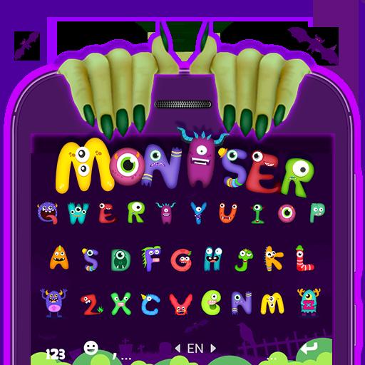 Grimace Monster Keyborad Theme