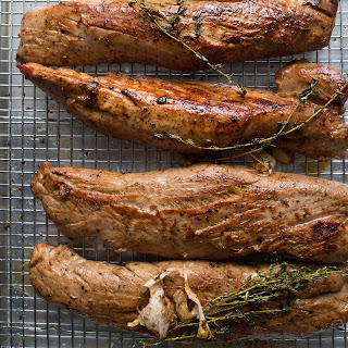 Maple-Brined Pork Tenderloin