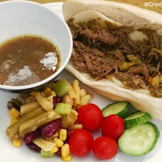 Crock-Pot Homemade Italian Beef Recipe