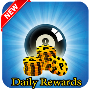 eight ball pool rewards - daily coins and cash