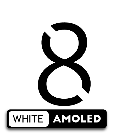 S8 / Note 8 White AMOLED UX - Icon Pack