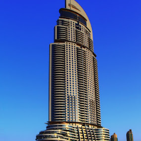 Address Hotel in HDR.  Dubai, UAE by AJ VILLAMAYOR - Buildings & Architecture Other Exteriors