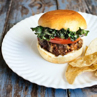 Chorizo Cheddar Burger Recipe