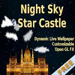 Night Sky Star Castle FREE Icon