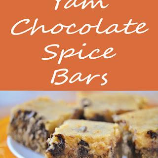 Yam Chocolate Spice Bars