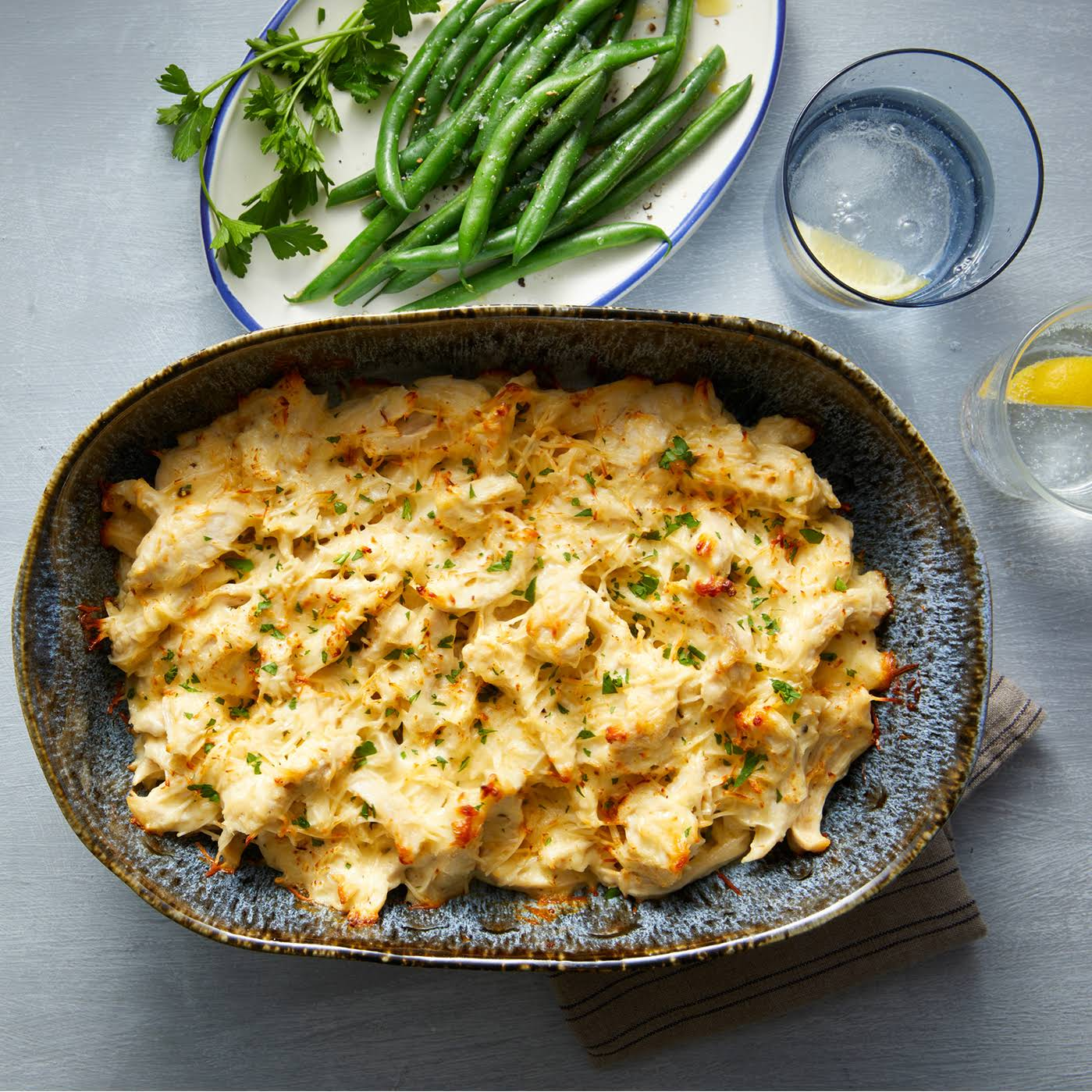 Easy Parmesan Chicken Casserole