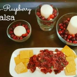 Cran-Raspberry Salsa