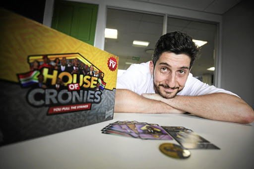 Pierre Cassuto wanted to make something unique to SA when creating the new board 'House of Cronies.