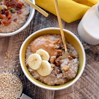 Crock-Pot Maple Cinnamon Steel Cut Oatmeal
