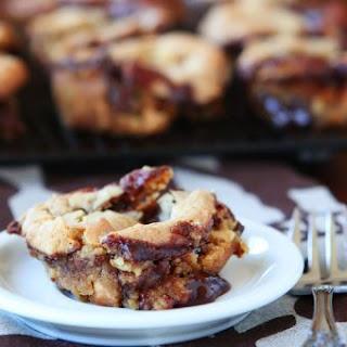 Ganache Stuffed Banana Pudding Cookie Muffins.