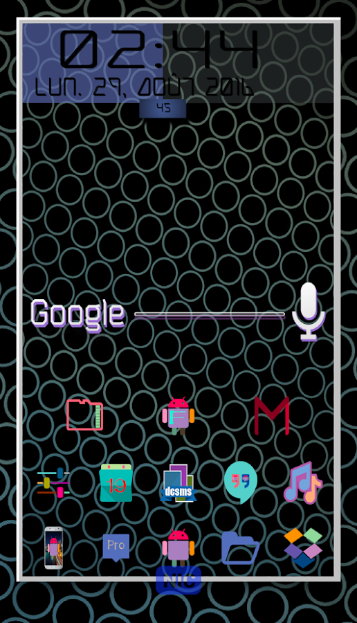 ColorDroid Icon Pack- screenshot
