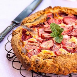 Strawberry and Mascarpone Galette Recipe