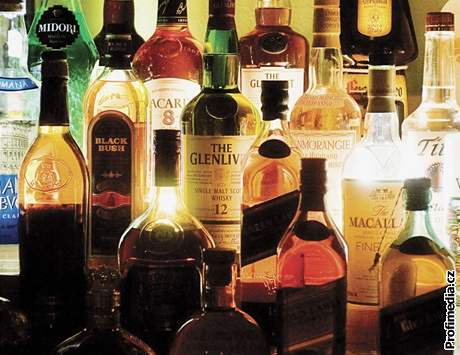 ...alkoholické nápoje...