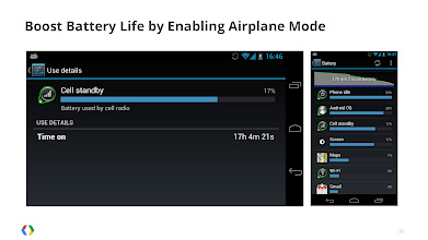 Photo: One of the biggest sources of battery drain is apps' inefficient use of the cell radio.