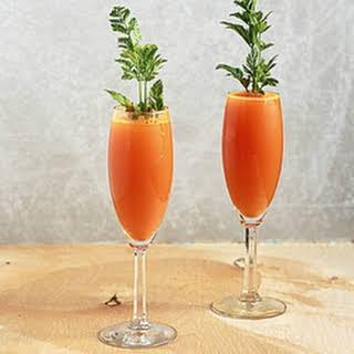 Carrot Mimosas.