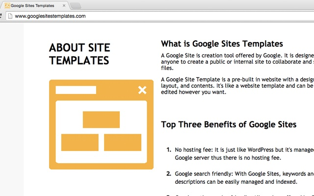Google sites templates chrome web store maxwellsz