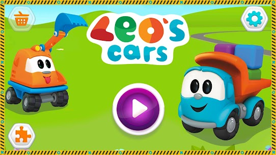 Leo the Truck and cars: Educational toys for kids 7