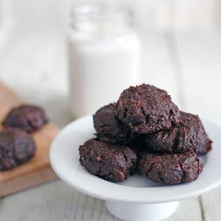 30-Minute Guilt Free Fudge Brownie Cookies