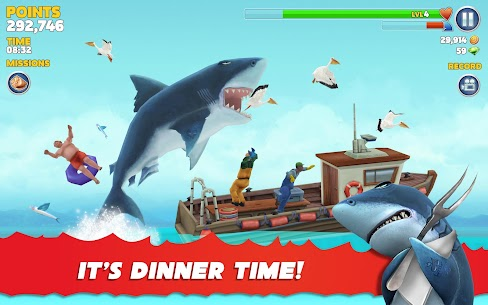 Hungry Shark Evolution Mod Apk 8.0.4 (Unlimited Money Coins + Dimond) 9
