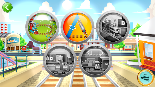 Learn Letter Names and Sounds with ABC Trains 1