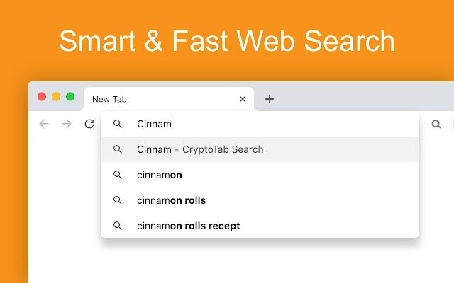 CryptoTab Search