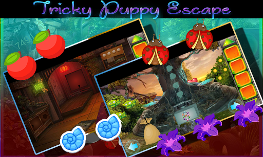 Kavi Game -427- Tricky Puppy Escape Game 1.0.0 screenshots 4