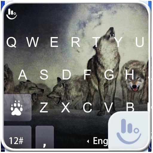 Wild Wolves Keyboard Theme
