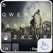 Wild Wolves Keyboard Theme 6.2.23.2019 Icon