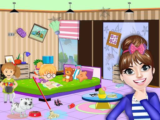 Pretend Play Hotel Cleaning: Doll House Fun 1.1.1 screenshots 2