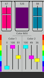 cmyk mix color scheme designer screenshot thumbnail - Color Scheme Designercom