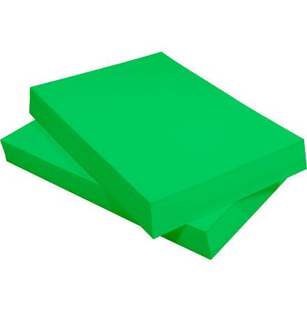 Tonpapper A4 110g grön 250/fp