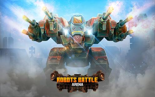 Robots Battle Arena Mech Shooter & Steel Warfare apk