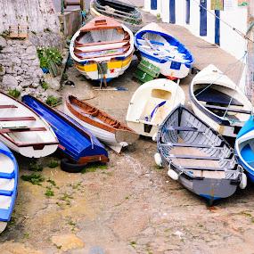 Boats by Ioan G Hiliuta - City,  Street & Park  Street Scenes ( boat )
