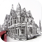 how to draw houses
