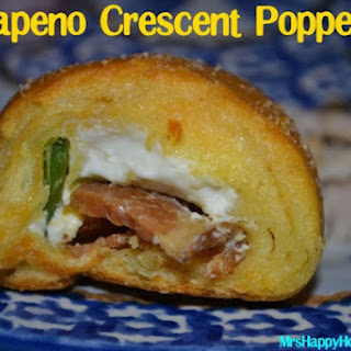Bacon Jalapeno Crescent Poppers