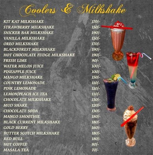Mudpipe Cafe menu 8