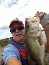Photo: Steve Henderson 7lb Bass Lake Harris Jan -13