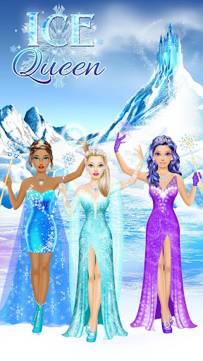 Ice Queen Makeover - Girls Makeup & Dress Up Game FREE.1.3 screenshots 11