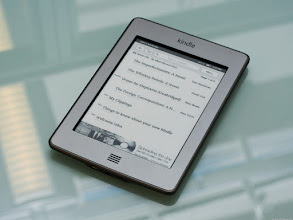 Photo: Amazon Kindle Touch: http://cnet.co/rTFeeD