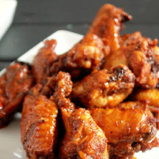 Spicy Baked Hot Wings.