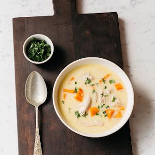 Georgian Chicken Soup.