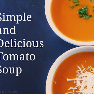 Simple and Delicious Tomato Soup Recipe