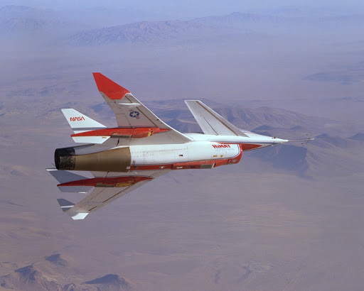 The HiMAT Highly Maneuverable Aircraft Technology subscale research vehicle was flown.