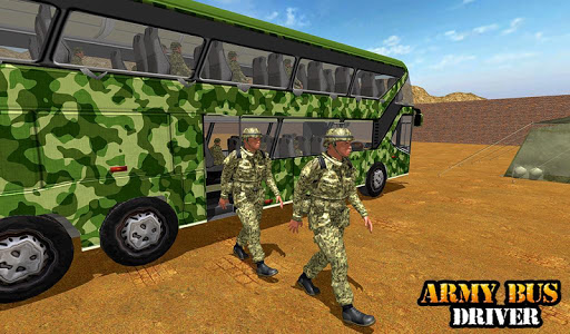 Army Bus Driving 2019 - Military Coach Transporter 1.0.8 screenshots 16