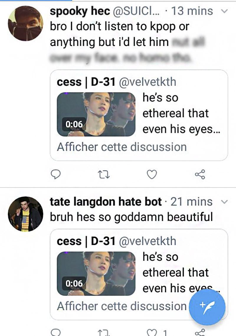 bts jimin eyes comments
